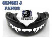 Sensei J Signature Gum Shield 'FANGS-TEETH - Senior , MMA, Rugby, Ufc Wrestling Mouth Guard