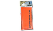 BCB CL044 Emergency Hi-Vis Heavy Duty Polythene Printed Survival Sleeping Bivi Bag