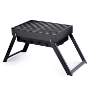 OUTAD Outdoor Camping Hiking Picnic Charcoal Grikker for 2 or 3 People BBQ