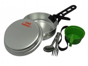 Cao Camping Aluminium Cook Set for 1 Person 1.1 l