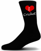 I Love Cricket Socks. Great Christmas Giftware