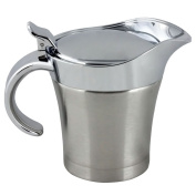 COM-FOUR ® Thermo Gravy Boat Stainless Steel Sauce Pot