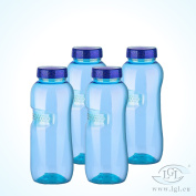 Top Quality Strong BPA-Free Tritan) Water Bottle with Screw Cap - 4 x 0.5 Litre - Packet 09