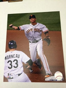 Ehire Adrianza San Francisco Giants unsigned 8x10 photo Fully Licenced Throwing