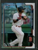 2015 Draught Chrome Refractor #106 Rafael Devers NM-MT Red Sox
