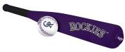 MLB Foam Bat and Ball Set Colorado Rockies,One Size,Purple