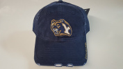 New BYU Cougars Navy Pre-Ripped Buckle Hat