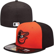 New Era 59FIFTY Fitted MLB DIAMOND ERA On Field Baltimore Orioles Batting Practise Cap