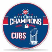 Chicago Cubs 2016 World Series Champions 37cm Circle Die Cut Pennant