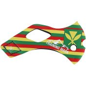 Elevation Training Mask 2.0 Hawaii Sleeve Yellow/Green/Red Medium *** SLEEVE ONLY - Not a complete Mask ***