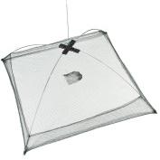 2013newestseller 60cm X 60cm Foldable Trap Baits Cast Lures Fishing Crab Minnow Crawdad Shrimp Dip Net
