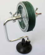 Fishing Line Reel Spool Spooler System Tackle Accessory Silver Fishing Tool