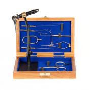 Umpqua Fly Tying Tool Kit With Wood Case