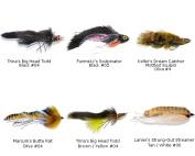 Best of MFC BIG Streamer Assortment - 6 Flies