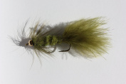 Flies Direct BH Woolly Bugger Olive Assortment Trout Fishing Flies