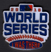 """2016 WORLD SERIES """"I WAS THERE"""" LOGO PIN LTD. EDITION COLLECTIBLE MLB"""