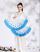 Blue Phoenix special dance one pair of fanmartial arts fan tai chi fan karate fan kungfu fan 2pcs