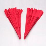 Sharp wind middle streight martial arts fan tai chi fan karate fan kungfu fan 2pcs