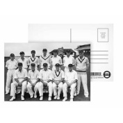 The South African Cricket Team - Postcard (Pack of 8) - 15cm x 10cm - Art247 Highest Quality - Standard Size - Pack Of 8