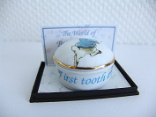 Peter Rabbit - Porcelain First Tooth & Curl Keepsake by Reutter Porzellan - Perfect for Beatrix Potter Collectors