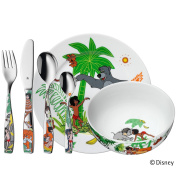 "WMF ""Junglebook"" Child's Set, Stainless Steel, Multi-Colour, 6-Piece"