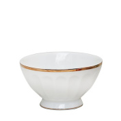 Love at First Sight Latte Bowl Cream with Gold