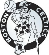 Boston Celtics Silver Auto Emblem