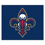 FANMATS 19460 NBA - New Orleans Pelicans Tailgater Rug , Team Colour, 150cm x 180cm