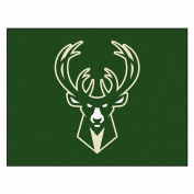 FANMATS 19453 90cm x 110cm Team Colour NBA - Milwaukee Bucks All-Star Mat