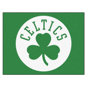 FANMATS 19426 90cm x 110cm Team Colour NBA - Boston Celtics All-Star Mat