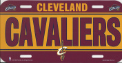 NBA Cleveland Cavaliers Plastic Licence Plate