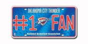 NBA Oklahoma City Thunder #1 Fan Metal Tag by Rico