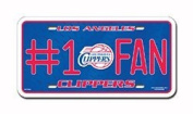 Los Angeles Clippers 75001 #1 FAN Metal Tag Licence Plate NBA Basketball