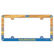 Golden State Warriors Plastic Licence Plate Frame