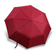 Newdora Windproof Umbrella Automatic Open Close - Sunshade Umbrellas - . Design Portable and Lightweight - Travel Umbrella for Men Women - Red