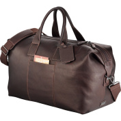 Kenneth Cole New York EQ34 Kenneth Cole Colombian Leather Weekender Duffel Duffle Tote Bag