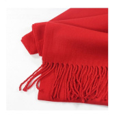 Red_(US Seller)Scarf Unisex New Fashion (Solid) Scotland Made Warm