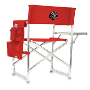 NBA Toronto Raptors Portable Folding Sports Chair, Red