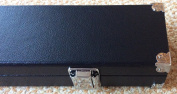 Heavy duty Black 2 piece cue case ,with reinforced corners .Foam padding & chalk compartment