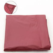 2.1m RED NYLON WEIGHTED POOL OR SNOOKER TABLE COVER
