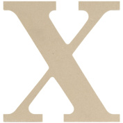 MDF Classic Font Wood Letters & Numbers 24cm -X