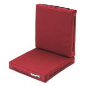 Cushion Double Burgundy Made From Polyester Waterproof