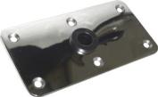 SeaSense Seat Deck Base, 10cm X 20cm , Mirror Stainless Steel