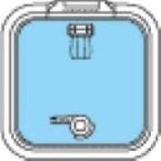 Osculati 19.420.10 - Lewmar port hole TG 10
