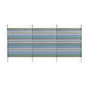 WBL 4 Pole Standard Stripes Windbreak - Green