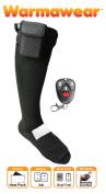 Warmawear Remote Control Battery Heated Socks with Dual Fuel