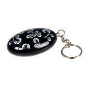 Emergency Protective Personal Security Keychain Alarm - Black