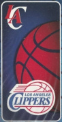 Los Angeles Clippers NBA Blue/Red Beach Towel 30 X 60 100% cotton - We are one by Northwest