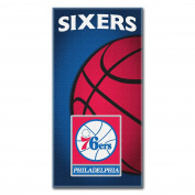 NBA Philadelphia 76ers Emblem Beach Towel, 70cm x 150cm