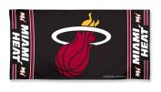 Miami Heat Pool Beach Bath Gym Towel Large 80cm X 150cm with Official NBA Basketball Sports Team Logo